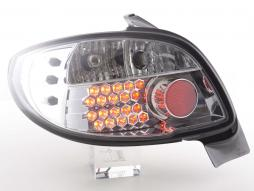 Led Taillights Peugeot 206 3/5 dr. not Cabrio Yr. 98-05 chrome
