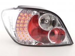 LED Rückleuchten Set Peugeot 307 Bj. 01-04 chrom
