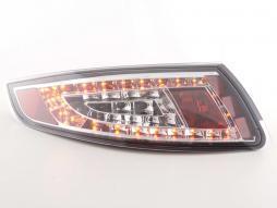 Led Taillights Porsche 911 type 997 Yr. 05-09 chrome