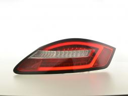LED rear lights Porsche Boxster type 987 Yr. 04-09 red/clear
