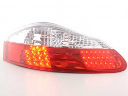 Led Taillights Porsche Boxster type 986 Yr. 1996-2004 clear/red