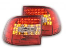 Led Taillights Porsche Cayenne type 955 Yr. 02-06 clear/red