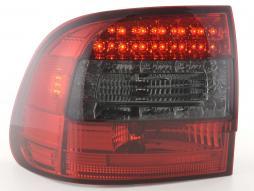 LED Rückleuchten Set Porsche Cayenne Typ 955 Bj. 02-06 rot/schwarz
