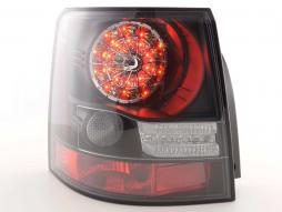 Led Taillights Land Rover Range Rover Sport Yr. 06-10 black