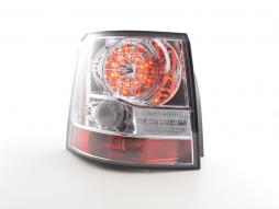 Led Taillights Land Rover Range Rover Sport Yr. 06-10 chrome