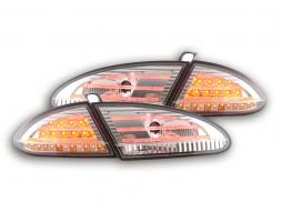 LED Rückleuchten Set Seat Leon Typ 1P Bj. 05-09 chrom