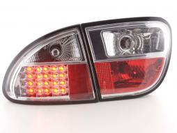 Led Taillights Seat Leon Typ 1M Yr. 1997-2005 chrome