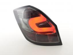 LED Rückleuchten Set gebraucht Skoda Fabia 5-türig  ab 2007 schwarz