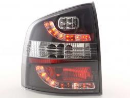Led Taillights Skoda Octavia Combi Typ 1Z Yr. 05- black