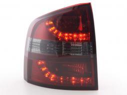 LED Rückleuchten Set Skoda Octavia Combi Typ 1Z Bj. 05-12 rot/schwarz