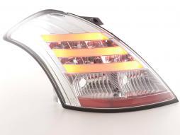 Led Taillights Suzuki Swift Yr. 2011- chrome