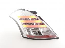 Led Taillights Suzuki Swift Sport Yr. 11-13 chrome