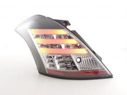 Led Taillights Suzuki Swift Sport Yr. 11-13 black