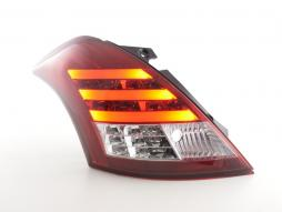 LED Rückleuchten Set Suzuki Swift Sport Bj. 11-13 rot/klar