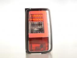 LED Rückleuchten Lightbar VW Caddy (2K) Bj. 03-15 chrom