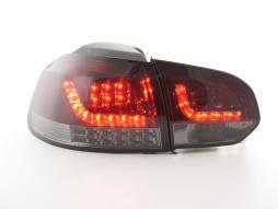Taillights LED VW Golf 6 (1K) Yr. 08-13 red/black