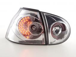 LED Rückleuchten Set VW Golf 5 Typ 1K Bj. 2003-2008 chrom für Rechtslenker