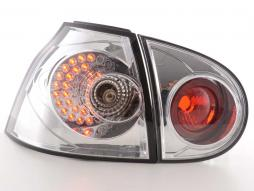 LED Rückleuchten Set VW Golf 5 Typ 1K Bj. 2003-2008 chrom