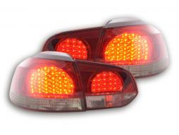 Led Rear lights VW Golf 6 type 1K Yr. 08- black/red
