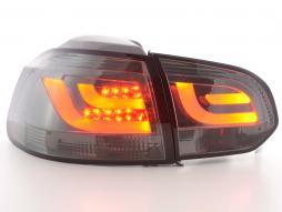 LED Rückleuchten Set VW Golf 6 Typ 1K Bj. 2008-2012 schwarz