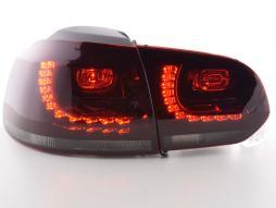 Led Rückleuchten VW Golf 6 Typ 1K Bj. 2008-2012 rot/schwarz GTI-Look