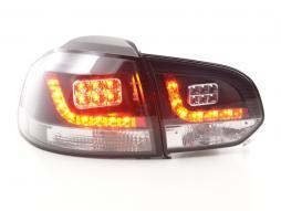 LED Rückleuchten Set VW Golf 6 Typ 1K Bj. 2008-2012 schwarz  für Rechtslenker