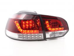 Led Taillights VW Golf 6 type 1K Yr. 2008-2012 red/clear with Led indicator