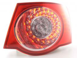 Spare parts Taillights right VW Jetta 5 type 1KM Yr. 05- clear/red