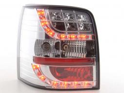 Led Taillights VW Passat 3BG Variant Yr. 01-02 chrome