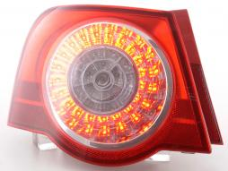 Spare parts Taillights left VW Passat saloon type 3C Yr. 05-10 clear/red