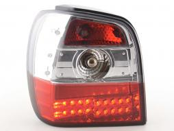 Led Taillights VW Polo type 6N Yr. 94-99 clear/red