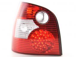 LED Rückleuchten Set VW Polo Typ 9N Bj. 01-05 rot/klar