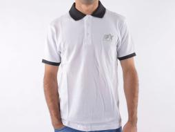 Poloshirt, Polo, Shirt, Top Modern, Klasse Design, weiß Größe S