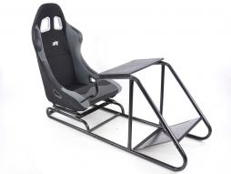 Game Seat for PC and Games console fabric black/grey