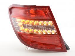 Verschleißteile Rückleuchte LED links Mercedes C-Klasse Kombi (204) Bj. 07-11 rot/klar