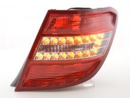 Verschleißteile Rückleuchte LED rechts Mercedes C-Klasse Kombi (204) Bj. 07-11 rot/klar