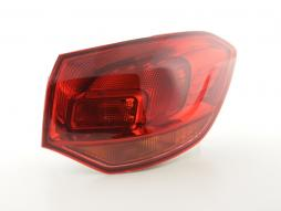 Spare parts taillight right Opel Astra J stationwagon Yr. 10-12 red