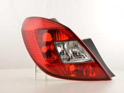 Spare parts taillight left Opel Corsa D Yr. 06-07
