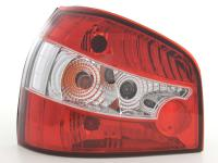 Taillights Audi A3 type 8L Yr. 96-00, red/clear