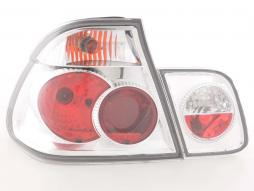 Taillights BMW serie 3 saloon type E46 Yr. 98-01 chrome
