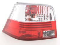 Taillights VW Golf 4 type 1J Yr. 98-02 red white
