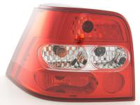 Taillights VW Golf 4 Yr. 98-02, red/clear