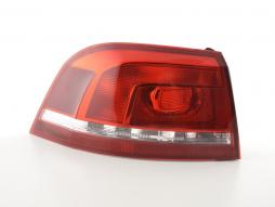 Spare parts taillight left VW Passat Variant (3C) Yr. 11- red/clear