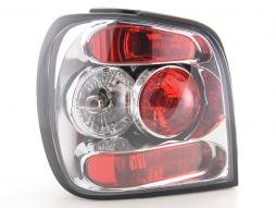 Taillights VW Polo type 6N2 Yr. 99-01 chrome