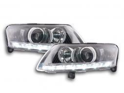 Scheinwerfer Daylight Xenon mit Tagfahrlicht Audi A6 (4F) Bj. 04-08 chrom