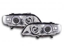 Scheinwerfer BMW X5 E53 Bj. 98-02 chrom
