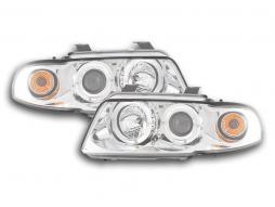 Scheinwerfer Set Audi A4 Typ B5 Bj. 95-99 chrom
