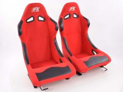 Sportseat Set Basic fabric red /