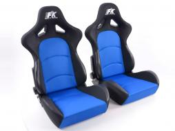 Sportseat Set Control fabric blue/black