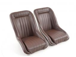 FK Sports car bucket seat set in Retro-Look